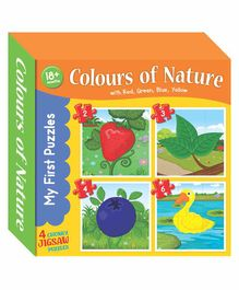 Art Factory Colors Jigsaw Puzzles - 4 Pieces