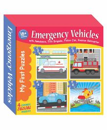 Art Factory Emergency Transport Jigsaw Puzzles - 4 Pieces