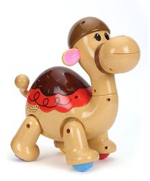 Mitashi SkyKidz Dancing Pets Musical Toy Camel - Brown