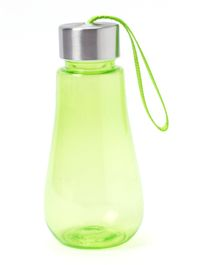 EZ Life Bulb Shape Water Bottle with Holder Strap - Green