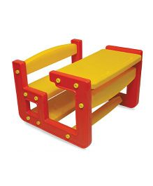 Playgro Toys Scholar Desk And Chair Set - Red Yellow