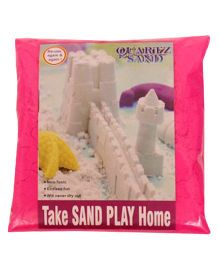 Elefantastik Pink Quartz Sand Plus Sand Tool And Tray - 500 Grams