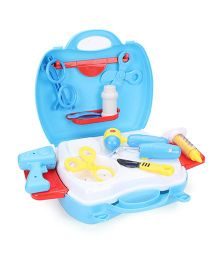 Sunny Doctor Play Set With Light Blue - 18 Pieces