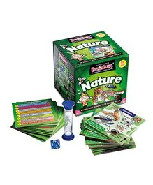 Green Board BrainBox Nature Brain Game - Multi Color