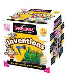 Green Board BrainBox Inventions Brain Game - Multi Color