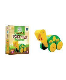 Jumboo 3D DIY Art And Craft Set Pull Back Tortoise Toy - Multi Color