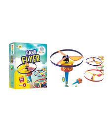 Jumboo 3D DIY Art And Craft Set Hand Flyer Toy - Multi Color