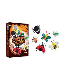 Jumboo 3D DIY Art And Craft Set Creepy Crawlers - Multi Color