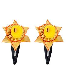 Miss Diva Traditional Star Gotta Tic Tac Set - Yellow