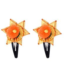 Miss Diva Traditional Star Gotta Tic Tac Set - Orange