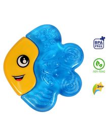 1st Step BPA Free Water Filled  Fish Shaped Cooling Teether - Blue