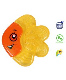 1st Step BPA Free Water Filled  Fish Shaped Cooling Teether - Orange