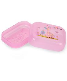 1st Step Soap Box Cartoon Animal Print - Pink