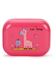 1st Step Soap Box Giraffe Print - Pink