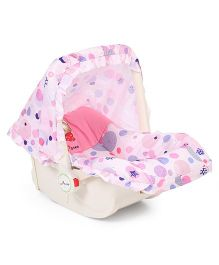 1st Step 5 In 1 Cozy Carrycot Cum Rocker - Pink