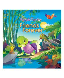 Purple Turtle Friends Forever Book - English
