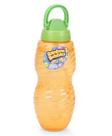 Comdaq Bubble Solution Bottle With Handle - Orange