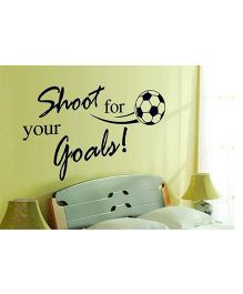 Syga Sports Wall Sticker - Black