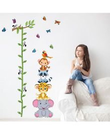 Syga Height Wall Sticker - Multicolor