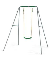 Plum Single Swing Set - Green Grey