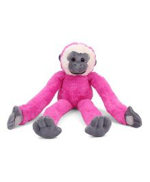 Keel Colorful Monkey Soft Toy Pink - 36 cm