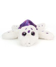 Keel Sparkle Eye Turtle Soft Toy Purple - 18 cm