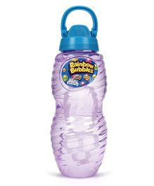 Comdaq Bubble Solution Bottle With Handle - Purple