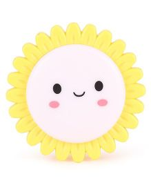 Smiling Sun Shaped Night Lamp - Yellow