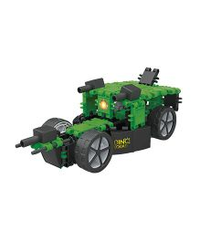 Clics Dino Squad 6 in 1 Construction Set - Green