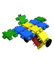 Clics Building Blocks Set Multicolour - 22 Pieces