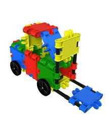 Clics Multi Construction Set Multicolor - 28 Pieces