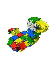 Clics 20 Constructions Blocks Set Multicolor - 62 Pieces
