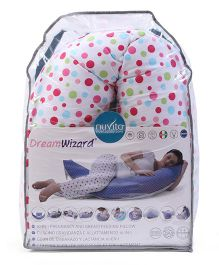 Nuvita Dream Wizard 10 In 1 Pregnancy And Breastfeeding Pillow Circles - White