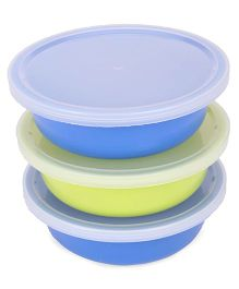 Nuvita 3 Storage Containers - Blue & Green