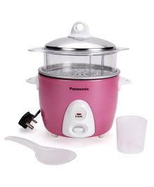 Panasonic Automatic Baby Cooker With Steamer - Pink