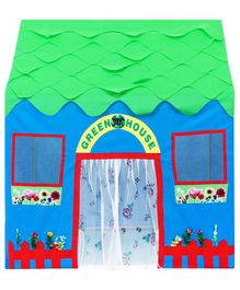 Playhood Green House Playhouse - Multicolor