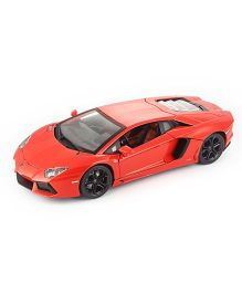 Bburago Die Cast Diamond Lamborghini Aventador LP700 4 Car - Orange