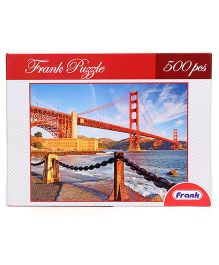 Frank Golden Gate Bridge Jigsaw Puzzle - 500 Pieces