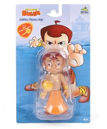 Chhota Bheem With Gada Figure Orange - 11 cm