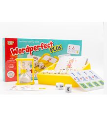 Virgo Toys Wordperfect Plus Board Game - Multicolor