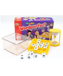 Virgo Toys Wordperfect Boggling Game - Yellow