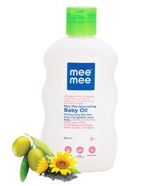 Mee Mee Nourishing Baby Oil - 200 ml