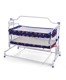 Mothertouch Deluxe Compact Cradle - Blue