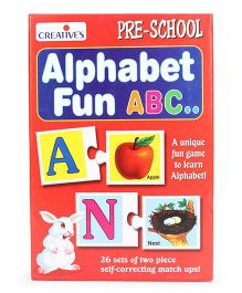 Creative's Alphabet Fun ABC Card Game - 52 Pieces