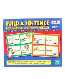 Creative's Build A Sentence Subject And Predicate Match Ups Part 1 - 60 Cards