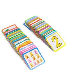 Creative Pre School Number Match Cards Game