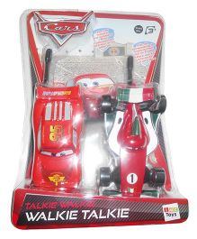 IMC Toys  Disney Cars Walkie Talkie - Red