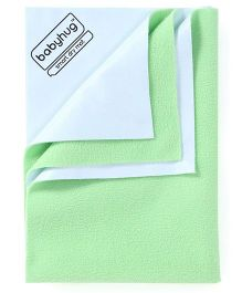 Babyhug Smart Dry Bed Protector Sheet Medium - Pista Green