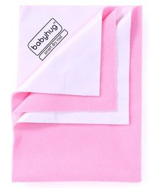 Babyhug Smart Dry Bed Protector Sheet Large - Pink