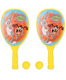 Looney Tunes Racket Set - Yellow